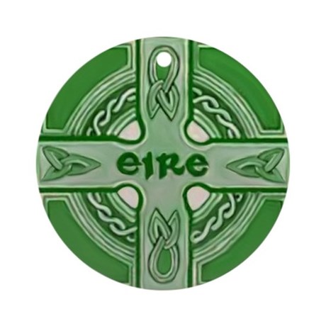 Symbols of Ireland Christmas Ornament
