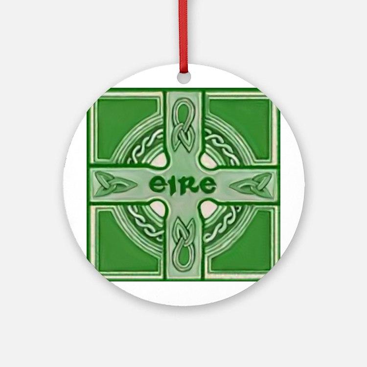 Symbols of Ireland Christmas Ornament