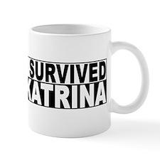 """I Survived Katrina"" Mug"