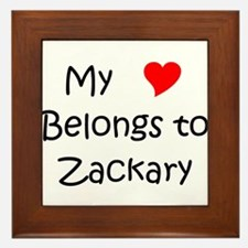 Cool Zackary Framed Tile