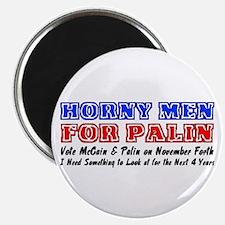 Horny men for Palin Magnet