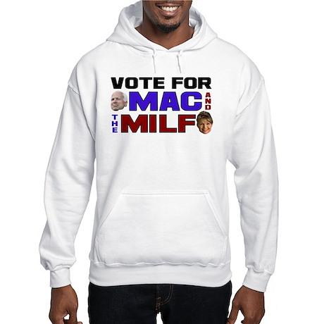 Mac & the MILF Hooded Sweatshirt