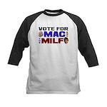 Mac & the MILF Kids Baseball Jersey