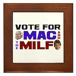 Mac & the MILF Framed Tile