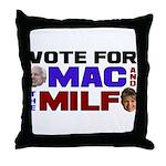 Mac & the MILF Throw Pillow