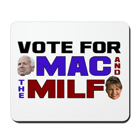 Mac & the MILF Mousepad