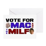 Mac & the MILF Greeting Cards (Pk of 20)
