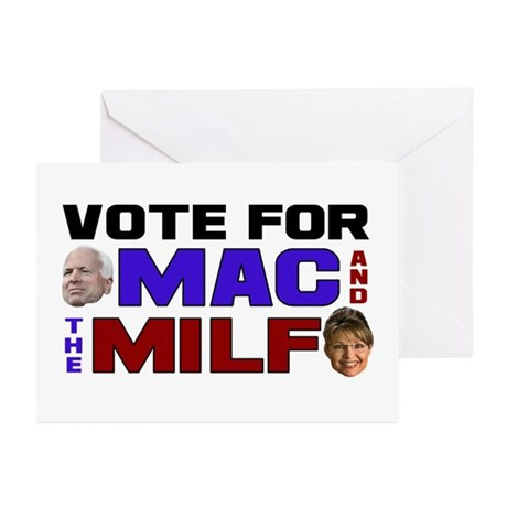Mac & the MILF Greeting Cards (Pk of 20)
