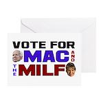 Mac & the MILF Greeting Card