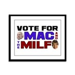 Mac & the MILF Framed Panel Print