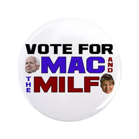 "Mac & the MILF 3.5"" Button (100 pack)"