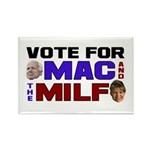 Mac & the MILF Rectangle Magnet (100 pack)
