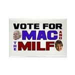 Mac & the MILF Rectangle Magnet (10 pack)