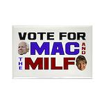 Mac & the MILF Rectangle Magnet