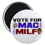 "Mac & the MILF 2.25"" Magnet (100 pack)"