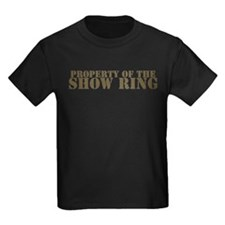 Property Of The Show Ring T