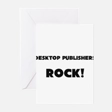 Desktop Publishers ROCK Greeting Cards (Pk of 10)