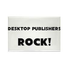 Desktop Publishers ROCK Rectangle Magnet