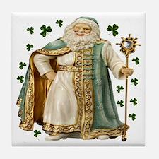Irish Santa Ceramic Tile