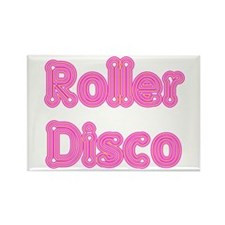 Roller Disco Rectangle Magnet