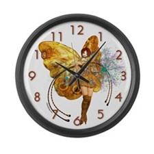 Sparkling Large Wall Clock