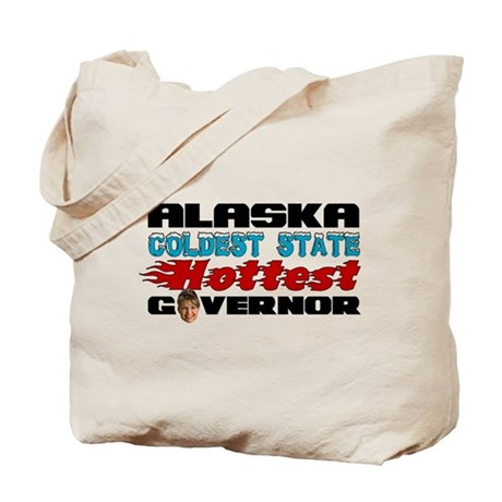 Palin Hottest Governor Tote Bag