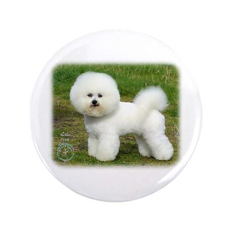 """Bichon Frise 9A063D-05 3.5"""" Button (100 pack)"""
