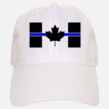 Canadian Police: Thin Blue Line Baseball Hat