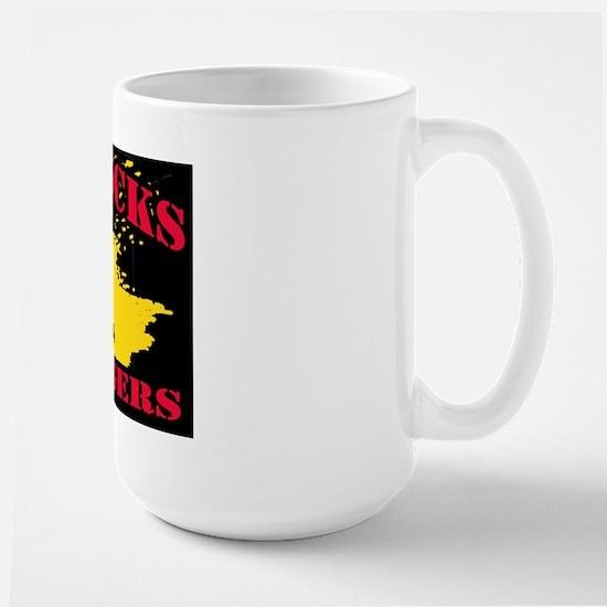 Big Oil Sucks Large Mug