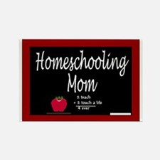 Homeschooling Mom Rectangle Magnet