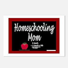 Homeschooling Mom Postcards (Package of 8)