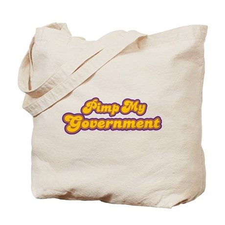 Pimp My Government Tote Bag