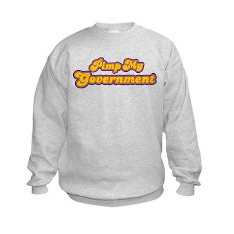 Pimp My Government Kids Sweatshirt