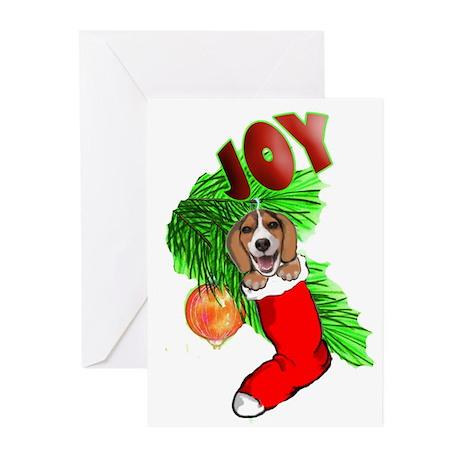Beagle Christmas Greeting Cards (Pk of 20)