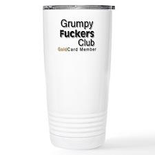 Stainless Steel Grumpy Fucker Travel Mug