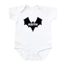 BLACK BAT KEITH Infant Creeper