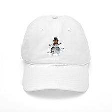 Happy Halloween snowman 2 Baseball Cap
