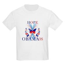 HOPE Obama 08 T-Shirt T-Shirt