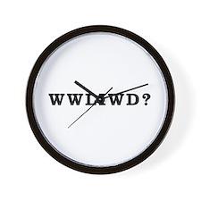 WWLIWD? Wall Clock