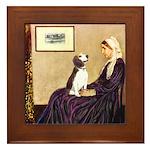 WMom / Beagle (#2) Framed Tile