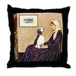 WMom / Beagle (#2) Throw Pillow