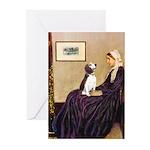 WMom / Beagle (#2) Greeting Cards (Pk of 20)
