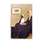 WMom / Beagle (#2) Sticker (Rectangle 50 pk)