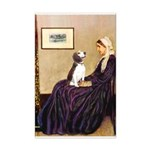 WMom / Beagle (#2) Mini Poster Print