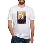 WMom / Beagle (#2) Fitted T-Shirt