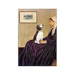 WMom / Beagle (#2) Rectangle Magnet (10 pack)