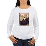 WMom / Beagle (#2) Women's Long Sleeve T-Shirt
