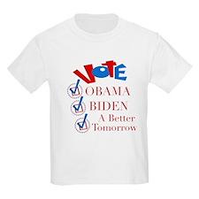 A Better Tomorrow Obama T-Shirt T-Shirt