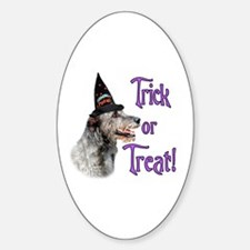Wolfhound Trick Oval Decal