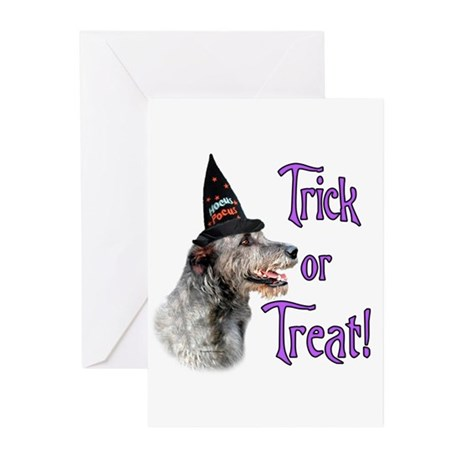 Wolfhound Trick Greeting Cards (Pk of 10)